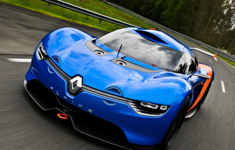 Photo wallpaper auto, Concept, the concept, Renault, the front, Alpine, A110-50