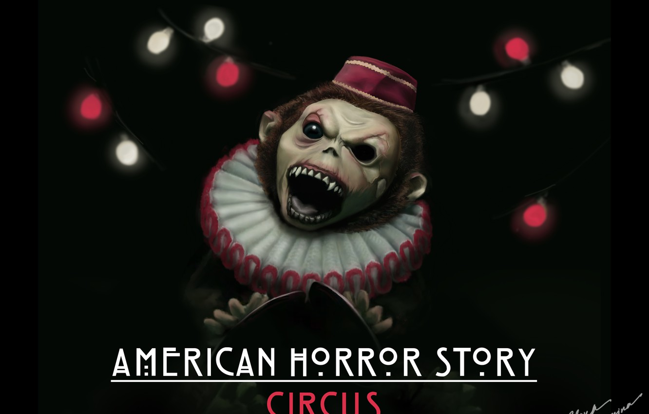 Wallpaper Monkey Digital Art American Horror Story Circus Fan