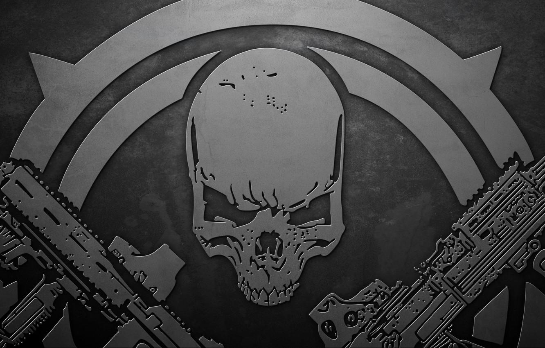 Photo wallpaper weapons, skull, Contract Wars, contract wars