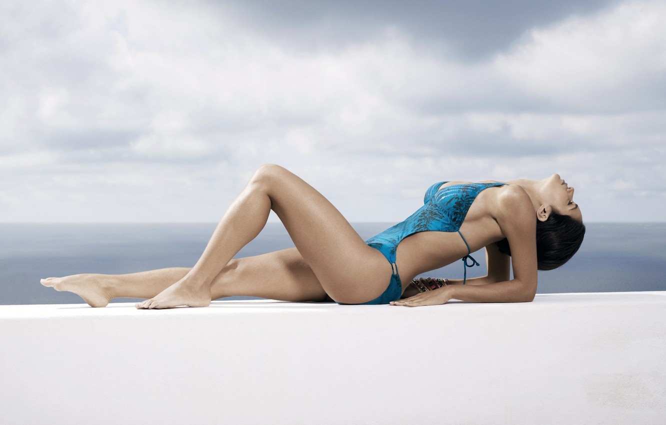Photo wallpaper stay, Swimsuit