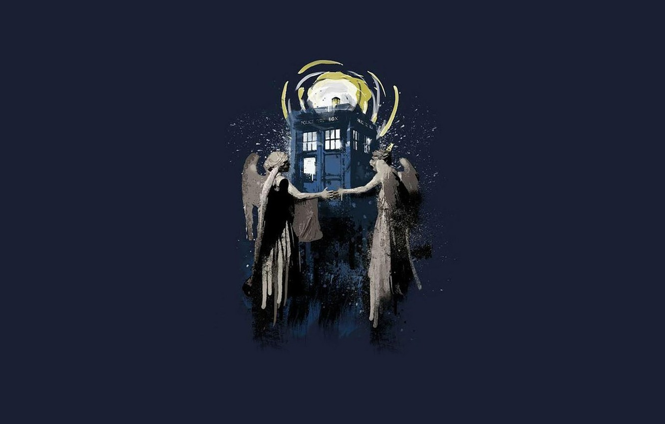 Wallpaper Background Statues Doctor Who Doctor Who The Tardis