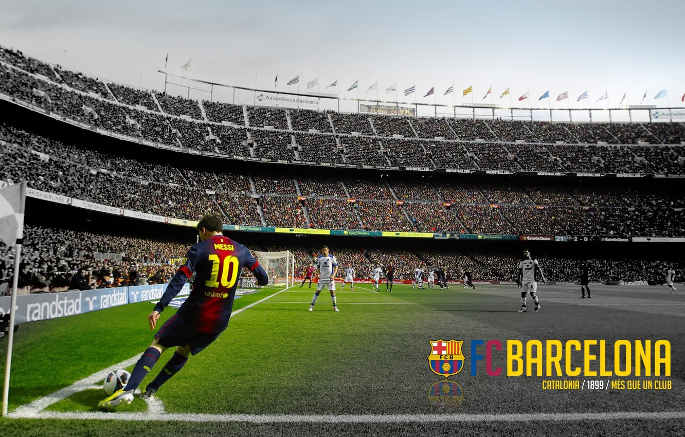 Wallpaper Wallpaper Football Lionel Messi Spain Camp Nou Fc