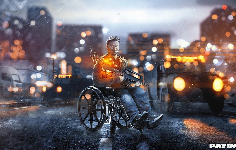 Photo wallpaper Battlefield 4, Overkill Software, Fon, PAYDAY 2, Gage