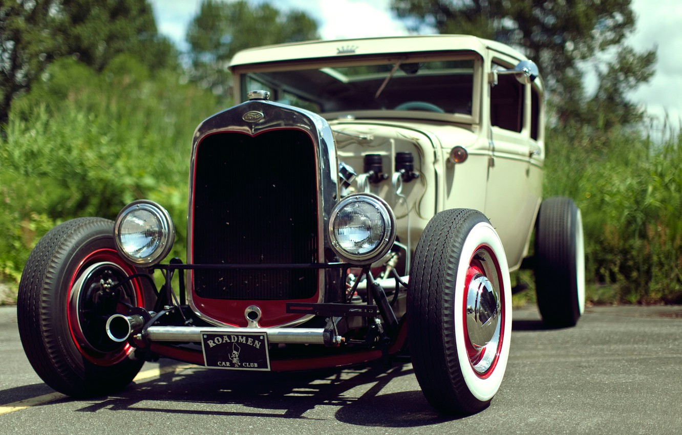 Photo wallpaper Ford, old, Ford, roadman, oldcar