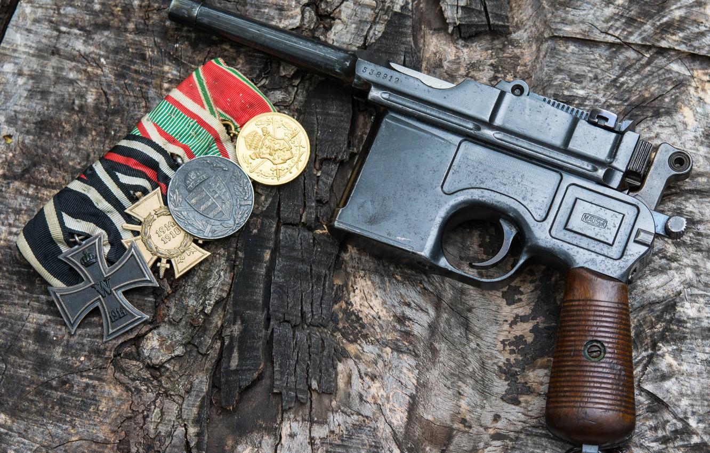 Wallpaper Gun German Mauser C96 The German Empire Self