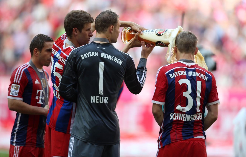 Wallpaper Allianz Arena, New, Schweinsteiger, Muller, Lahm