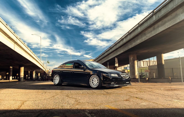 Photo wallpaper black, honda, Honda, accord, chord, acura, Acura