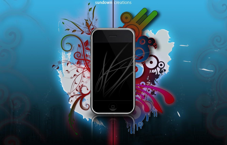Wallpaper Apple, Colors, Smartphone, Smartphone, IOS 7