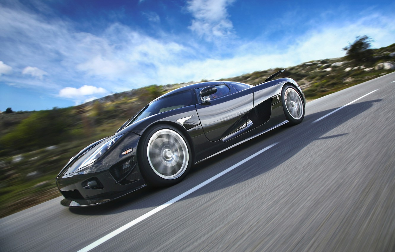 Photo wallpaper road, speed, koenigsegg ccx products