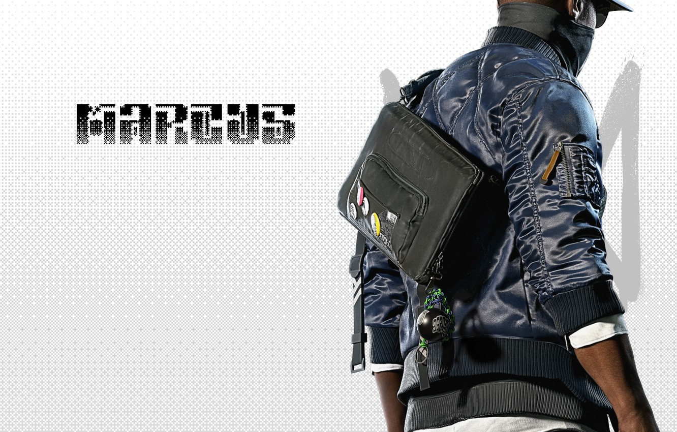 Wallpaper Marcus Marcus Holloway Watch Dogs 2 Dedsec Phone