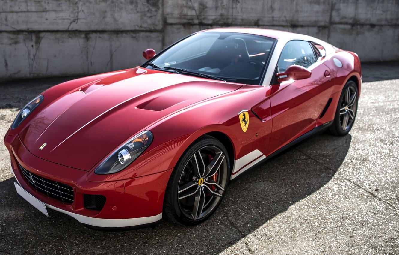 Photo wallpaper Ferrari, supercar, Ferrari, GTB, 599