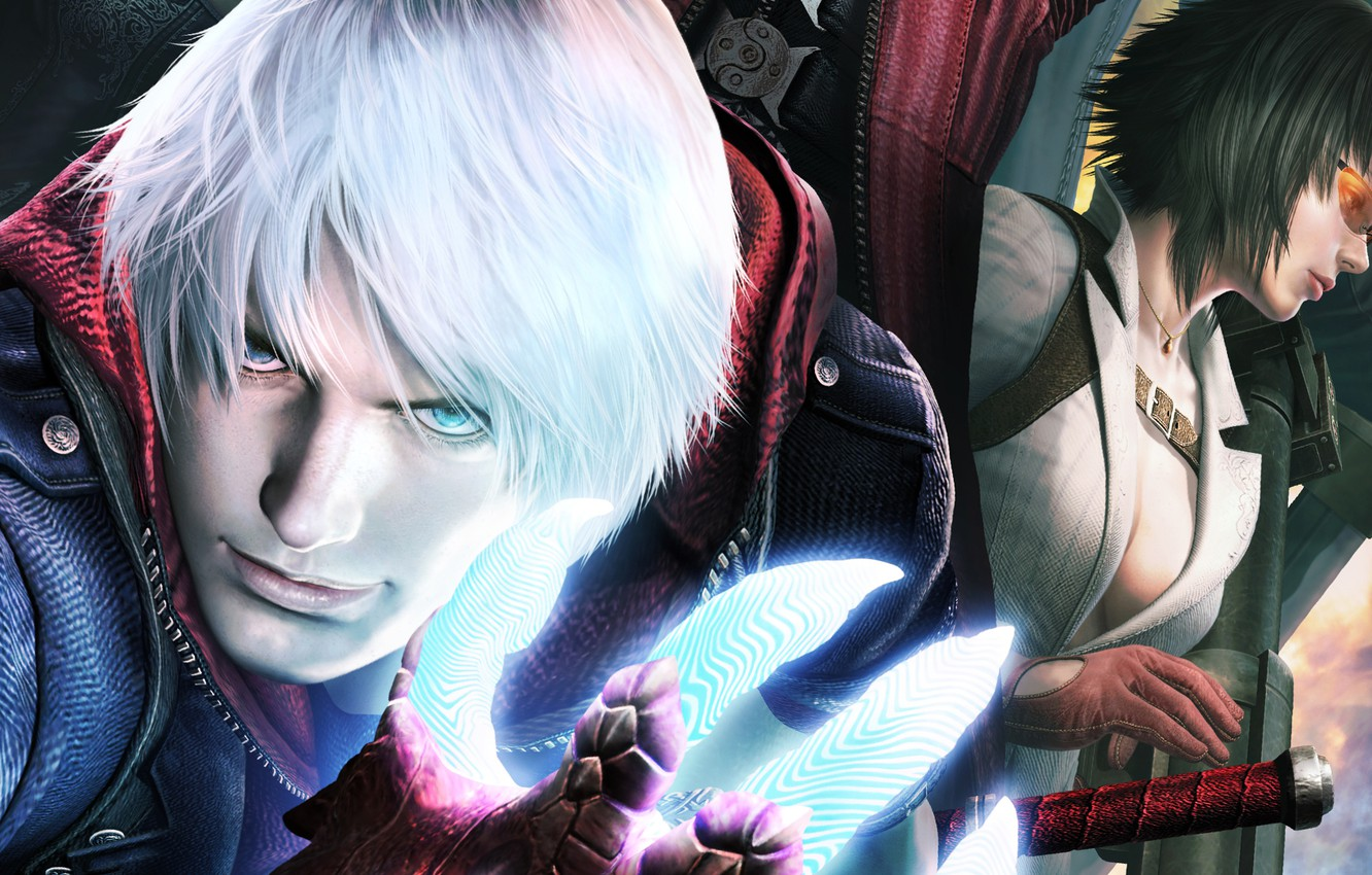 Wallpaper Lady Nero Capcom Devil May Cry 4 Special