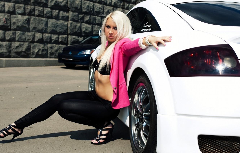 Photo wallpaper Blonde, Tuning, audi tt, CHIC, Mitrovic