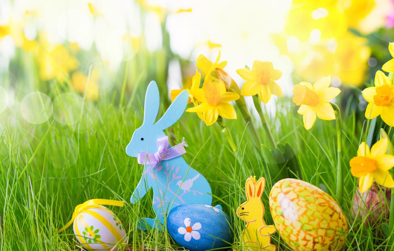 Photo wallpaper eggs, Easter, Easter eggs, easter, happy easter