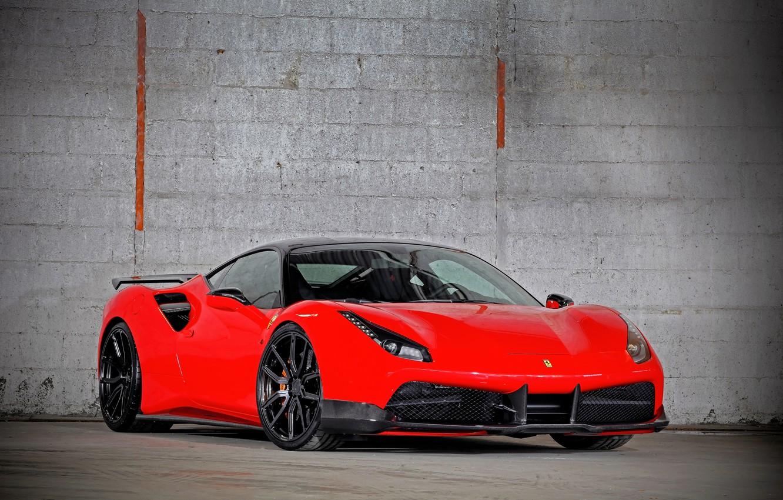 Photo wallpaper Ferrari, supercar, Ferrari, GTB, 488, YOUR Performance