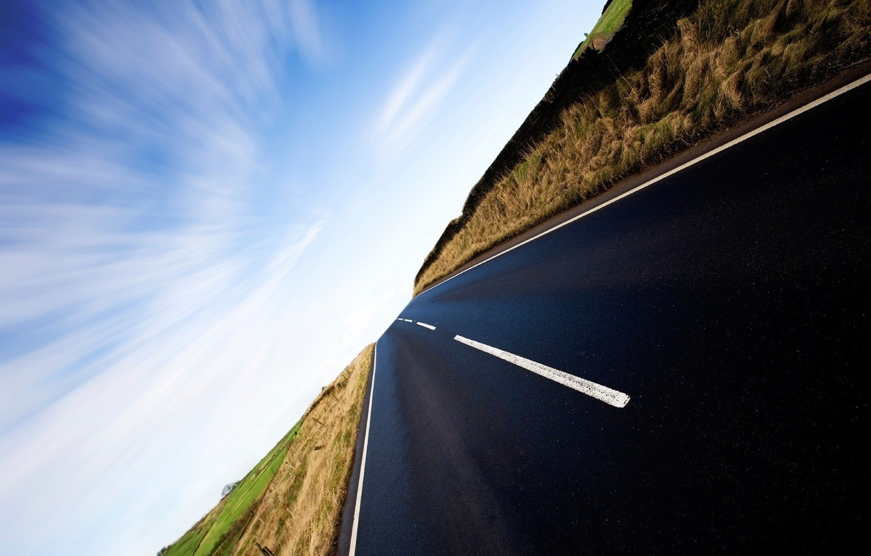 Photo wallpaper road, life, the way, movement