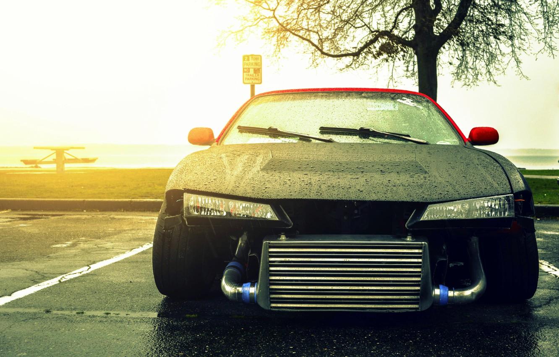 Photo wallpaper Silvia, Nissan, Nissan, front, drift car, Sylvia, S14