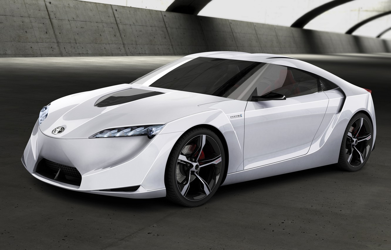 Photo wallpaper auto, concept, Toyota FT-HS