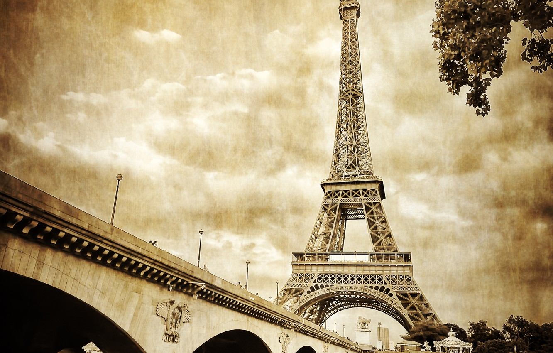Photo wallpaper Paris, France, afalava tower