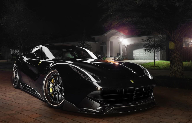 Photo wallpaper Ferrari, Front, Berlinetta, F12, Wheels, Exhaust, Capristo, Shop, ADV.1, Spec, Systems, GmbH