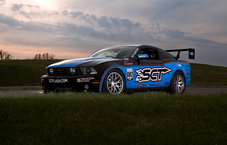 Photo wallpaper Mustang, Ford, Motorsport, Stinger, SCT