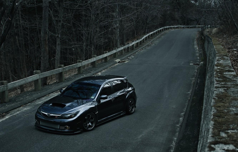 Photo wallpaper Subaru, Impreza, WRX STI, Hatchback