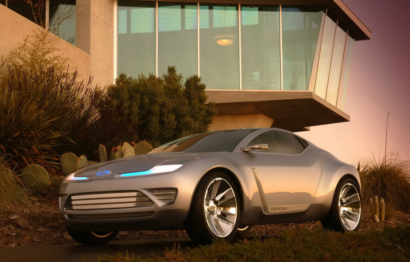 Photo wallpaper house, Ford, concept