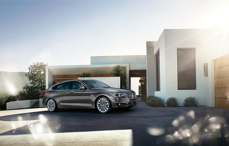 Photo wallpaper BMW, BMW, 5 series, Gran Turismo, Gran Turismo, 2015, F07