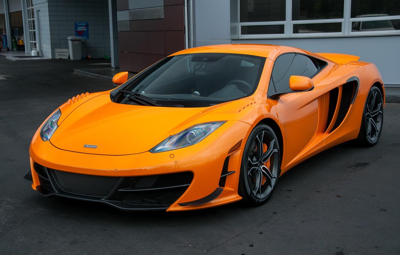 Photo wallpaper McLaren, Orange, Sport, 220, High