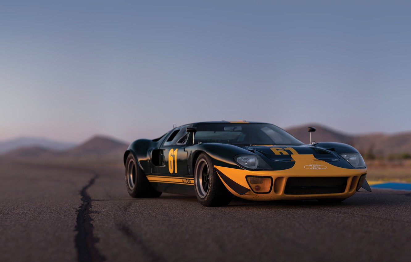 Photo wallpaper Ford, supercar, Ford, 1966, GT40