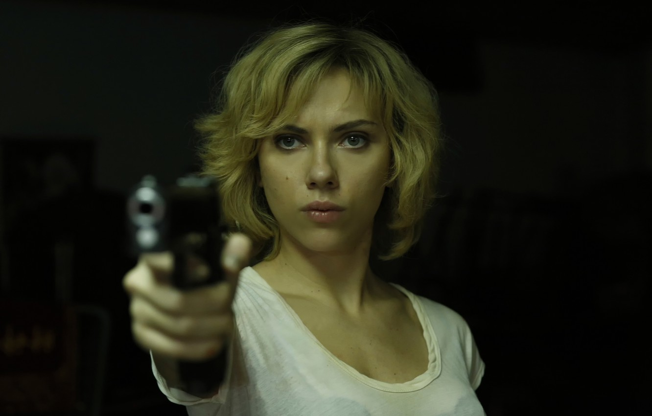 Photo wallpaper fiction, Scarlett Johansson, action, Lucy, Lucy