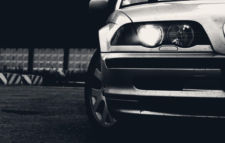 Photo wallpaper BMW, BMW, car, 320i
