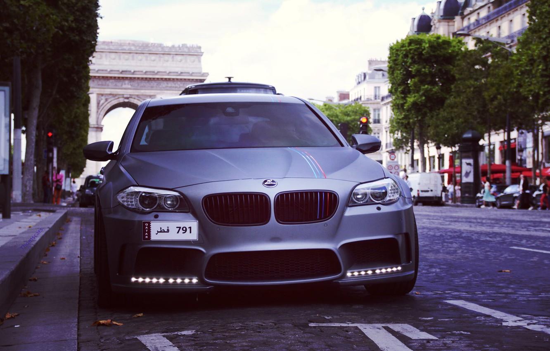 Photo wallpaper BMW, BMW, Paris, Hamann, F10