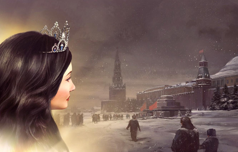 Photo wallpaper The Kremlin, Sid Meier's Civilization V, Catherine II, Civilization