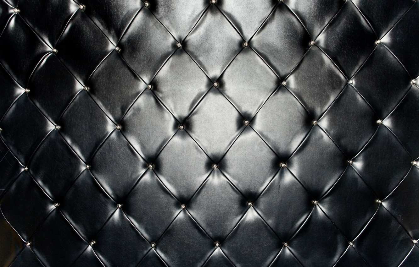 Photo wallpaper leather, black, texture, leather, upholstery, skin, upholstery