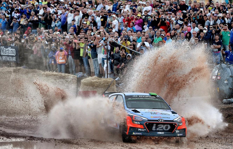 Photo wallpaper Squirt, Hyundai, WRC, Rally, i20