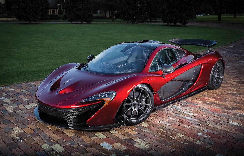 Photo wallpaper McLaren, supercar, McLaren