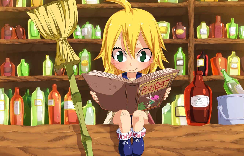 Photo wallpaper kawaii, game, green eyes, anime, fairy, beautiful, crown, pretty, face, blonde, asian, shop, cute, manga, …