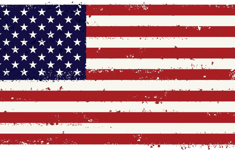 Photo wallpaper white, red, strip, flag, USA, U.S.A., the United States of America