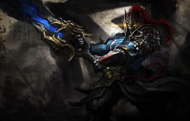 Photo wallpaper sword, Game, armor, dota 2, rogue knight, DotA, Sven