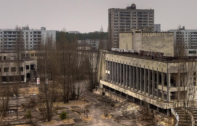 Photo wallpaper overcast, Chernobyl, Pripyat, Ukraine, d/powerman
