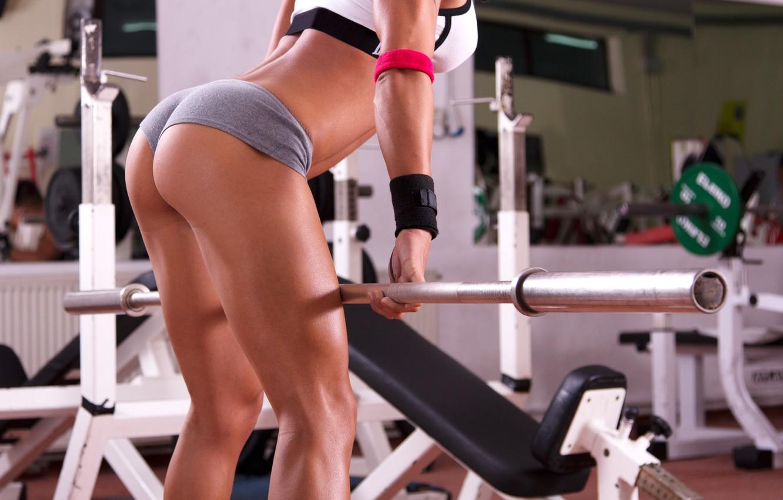 Photo wallpaper sexy, ass, butt, fitness