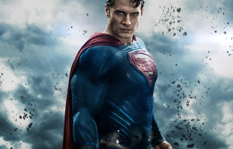Photo wallpaper fiction, costume, poster, superhero, comic, Henry Cavill, Henry Cavill, Batman v Superman: Dawn of Justice, …