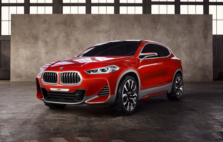 Photo wallpaper Concept, Red, BMW, Car, 2016, Metallic, X2