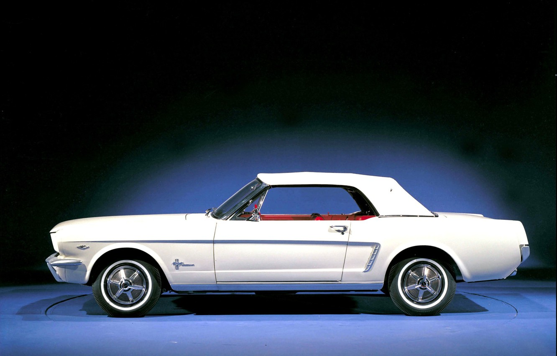 Photo wallpaper Mustang, Ford, Photo, Retro, Machine, Ford, Old, Mustang, Car, Car, Beautiful, Car, Wallpapers, 1964, Photo, …