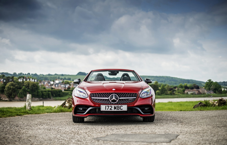 Photo wallpaper Mercedes-Benz, Roadster, convertible, Mercedes, AMG, R172, SLC-Class