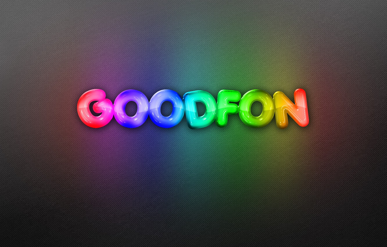 Photo wallpaper background, the inscription, rainbow, neon, goodfon, rainbow, background, neon, background
