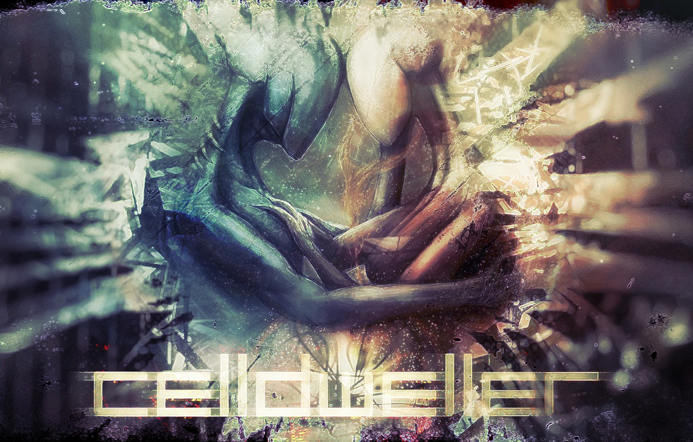 Photo wallpaper color, abstraction, feelings, creatures, it, Celldweller