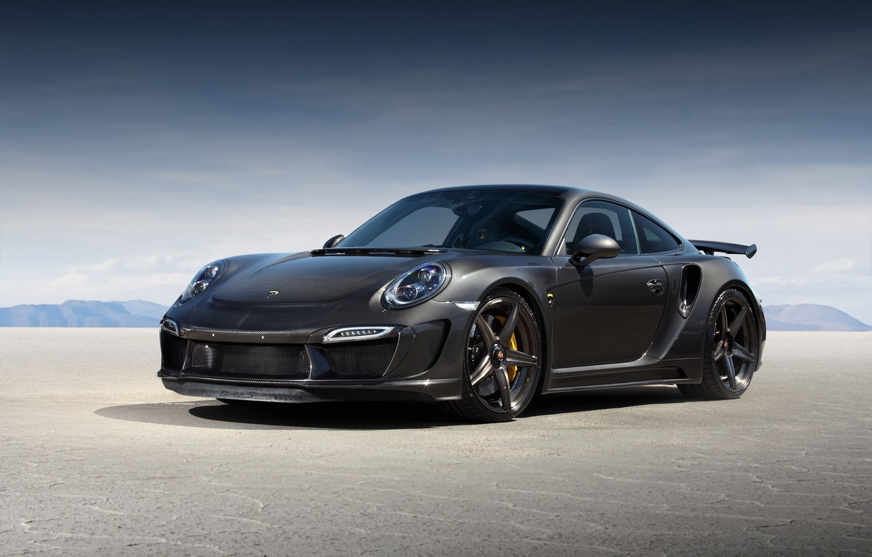 Photo wallpaper 911, Porsche, GTR, Porsche, Turbo, Ball Wed, 991, Carbon Edition, 2015, Stinger