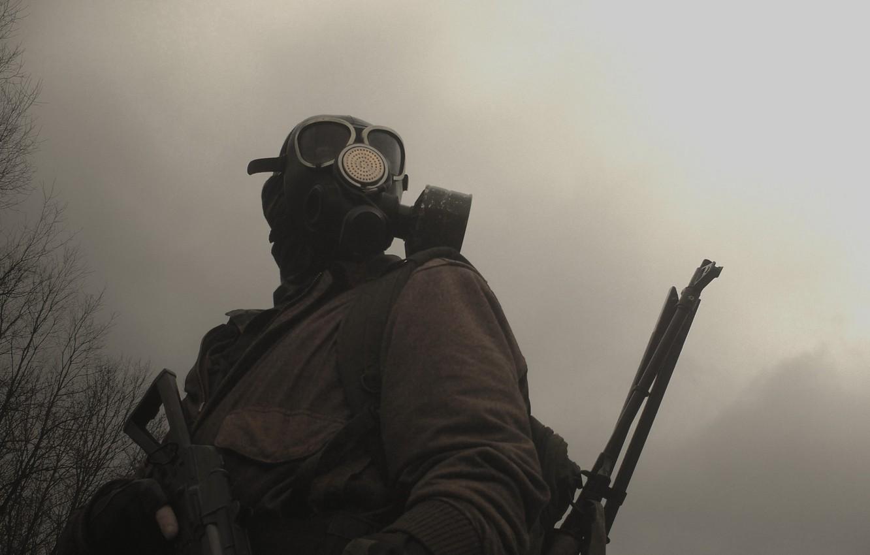 Photo wallpaper stalker, cosplay, apocalypse